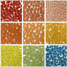 100g DIY Ceramic Mosaic Tiles Wall Crafts Various Mixes Optic Drops