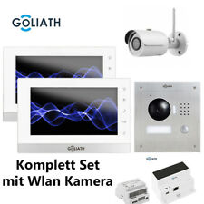 GOLIATH 2 Draht GL-2D112 Video Türsprechanlage - 2 Monitor - 1 IP-Kamera