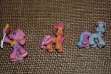 MY LITTLE PONY OLD SCHOOL VINTAGE PONY LOT OF 3 PLUS ONE FREE BALLOON PARTY GUC