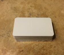 "50 Pieces BUSINESS CARDS - BLANKS 2"" x 3.5"" / NO HOLES"