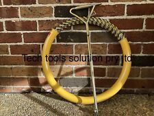 50M 6mm Cable Puller and Pit Key  Snake Fish Tape Cable Rodder NBN ISGM Pit Key