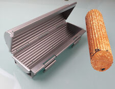 Hard Durable Toaster Round Shape Fluted Wall Aluminium Moldes Toast Bread Mold
