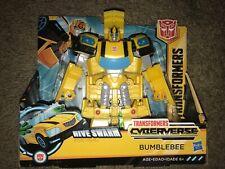 Transformers Cyberverse BumbleBee Ultra Class Bumbe Bee Yellow Autobot Car Robot