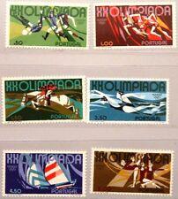 PORTUGAL 1972 1172-77 1147-52 Olympics München Soccer Equestrian Running MNH