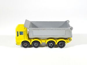 Matchbox Superfast No. 51 'Pointer' 8-Wheel Tipper Yellow/Silver
