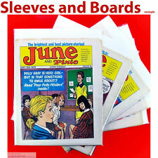 Comic Bags and Boards For Comics Like June & Pixie Weekly Comics Size4 New x 10