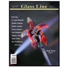 Glass Line Magazine October November 2008 Vol 22  # 3 Glass Blowing Lampworking