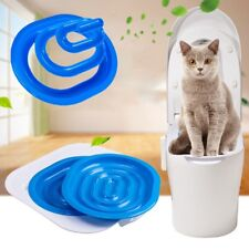Cat Toilet Training Kit Kitten Plastic Mat Pet Litter Trays Trainer Pet Supplies