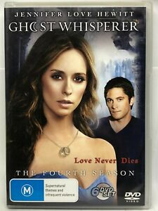 Ghost Whisperer - Fourth Season - 6 DVD Box Set - AusPost with Tracking