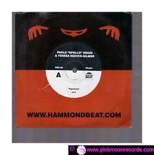 "PAOLO ""APOLLO"" NEGRI & TERESA REEVES- GILMER PAPARAZZI A BLUE FOR ME 7""45 RPM"