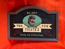 The Pirate's Pub Sign Great for Bar Area