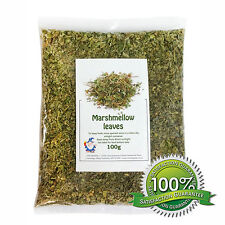 100g Dried Marshmallow Leaf Leaves Herb Tea Cut  - Chilli Wizards
