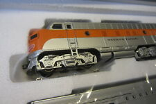 Märklin US Zugpackung 26600 digital mit Sound, Umbau auf Zweileiter Trix.