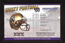 Washington Huskies--1999 Football Magnet Schedule