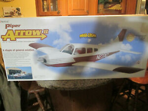 Radio Controlled airplane kit  Piper Arrow II 81 inch wingspan Gold Edition