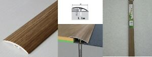 Dural Multifloor Door Bar Threshold  Strip Cover  Laminate Floor -1m Elm 5E 42mm