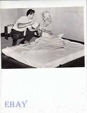 Jayne Mansfield Mickey Hargitay candid VINTAGE Photo candid