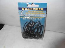 Sea Striker Billfisher Ball Bearing Swivels, 380# test, Size 7, 10 Pack,BBSS7-10