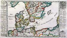 Antique map, Der nordischen konigreiche ... Dennemarck und Gothland