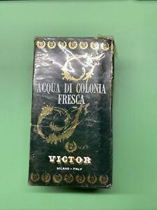 Acqua Di Colonia Fresca Victor Milano Italy Vintage