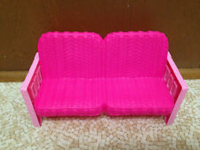 Barbie Doll Sisters Cozy Cabin Winter Family Build Up House Dollhouse Couch Sofa