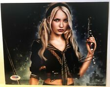 """EMILY BROWNING  """"SUCKER PUNCH"""" SIGNED 8x10 PHOTO #2  AUTHENTIC PSA DNA REPRINT"""