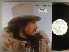 John Phillips The Wolfking Of L.A. Pop Rock White Label Promo
