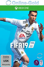 FIFA 19 - Xbox One Download Code - Xbox One Version Online Spiel Key NEU EU/DE