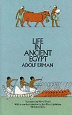 Egypt: Life in Ancient Egypt by Adolf Erman (1971, Paperback)