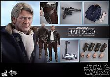 HOT TOYS Star Wars The Force Awakens Han Solo Harrison Ford 1/6 Figure