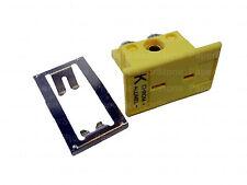 1 Set Mini K Type Miniature Thermocouple Panel Mount Omega Sockets