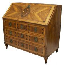 Antique Desk, Secretaire, Bureau, Marquetry, Large Neoclassical, 1700s, Gorgeous