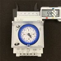 24 Hour Mechanical Immersion Heater Time switch Timer, 16A AC 110V-240V