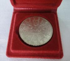 500 Schilling Münze - 1000 Jahre Steyer in Etui