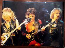 Judas Priest Poster - Rare Original Vintage 1970's - Dutch Issue