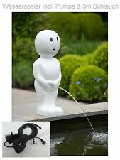 Pond Pump Gargoyle Garden Pond Fountain Garden Figure Decoration