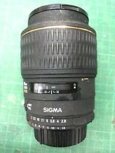 Sigma 105mm f2.8D Macro EX NIKON