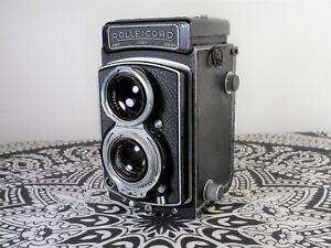 Rolleicord IV 6x6 medium format TLR camera Xenar 75mm f/3.5 lens