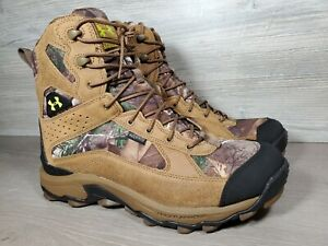 Mens Under Armour Speed Freek Bozeman Hunting Hiking Boots Sz 10.5 (g