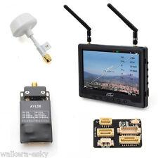 Black Pearl+DJI 5.8G FPV Lite Combo: Monitor + AVL58 TX Lite for Phantom 2