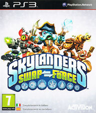SONY PLAYSTATION 3 PS3 SKYLANDERS SWAP FORCE PAL ITALIANO CON BASE