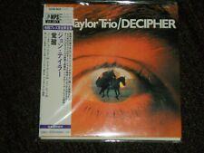John Taylor Trio Decipher Japan Mini LP