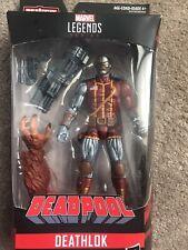 """Marvel Legends Deadpool 6"""" Deathlok Action Figure (Sasquatch BAF) - NEW/SEALED"""