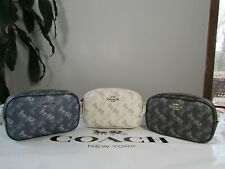 NWT Coach Convertible Horse And Carriage Print Belt or Crossbody Bag 78603