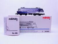 81360 Märklin H0 34305 Locomotora Eléctrica Serie Re 446 Swisscom Digital En Ovp