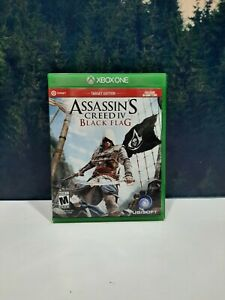 Assassin's Creed IV 4 Black Flag Microsoft Xbox One Target Edition Game + DLC