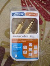 Logik Headphone Adapter Kit Brand New!