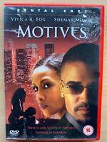 Motives 2003 Érotique Thriller Film Avec Vivica A. Fox Location Version