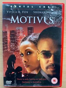 Motives 2003 Erotic Thriller Film Movie with Vivica A. Fox Rental Version