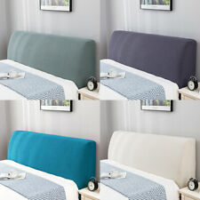 Bed Head Cover Stretchy Washable Headboard Dustproof Bedspread Bedding Slipcover